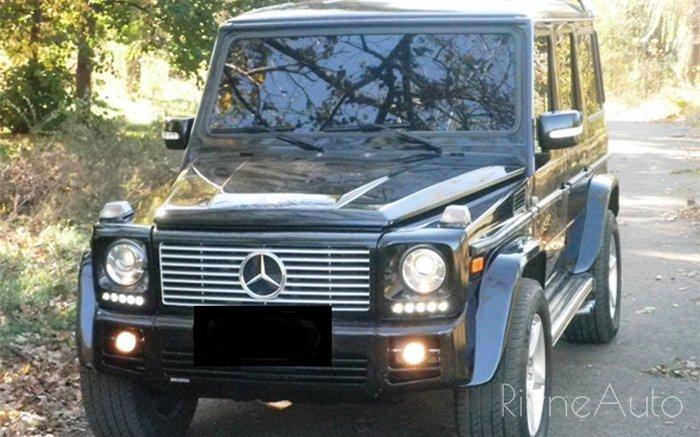 Аренда Mercedes G-class на свадьбу Рівнe