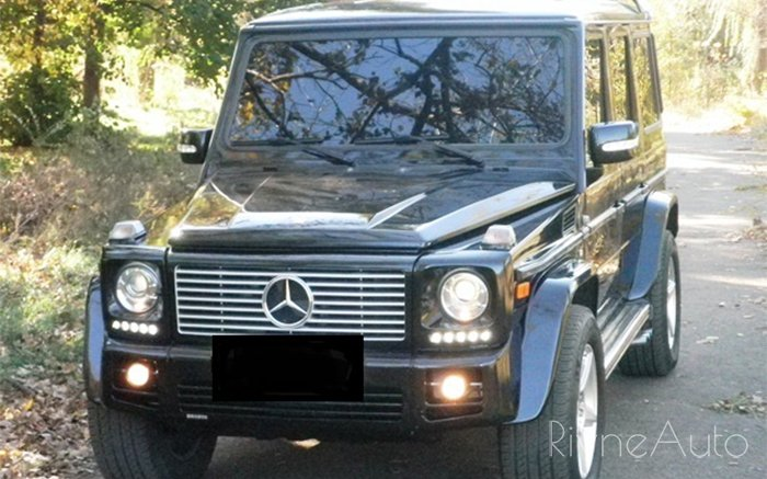 Аренда Mercedes G-class на свадьбу Ровно