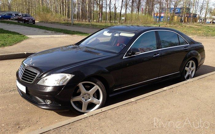Аренда Mercedes S-class W221 на свадьбу Ровно