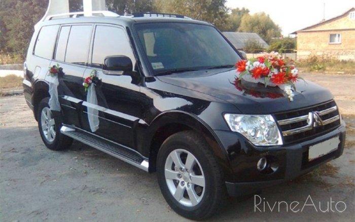 Аренда Mitsubishi Pajero Wagon на свадьбу Ровно