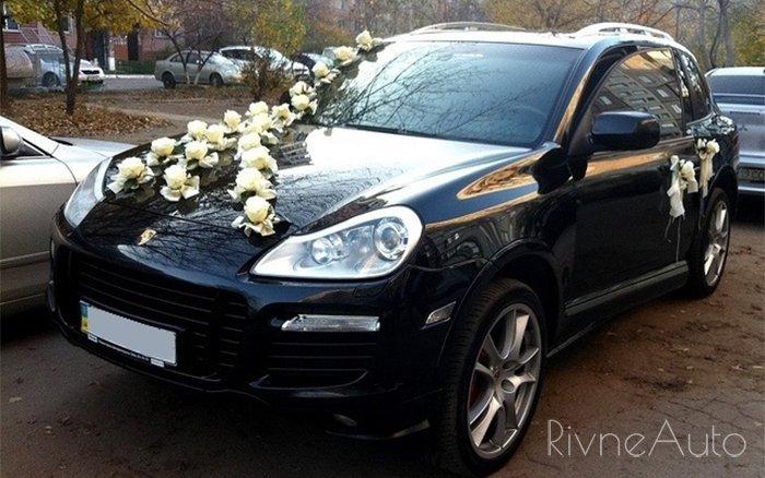 Аренда Porsche Cayenne на свадьбу Рівнe