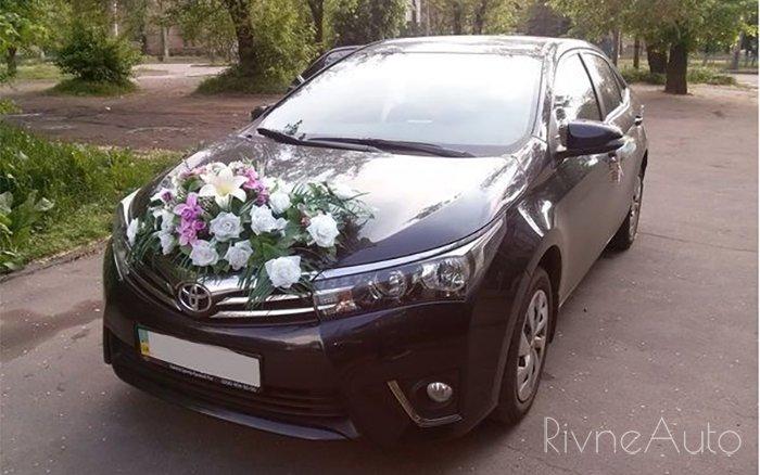 Аренда Toyota Corolla New на свадьбу Ровно