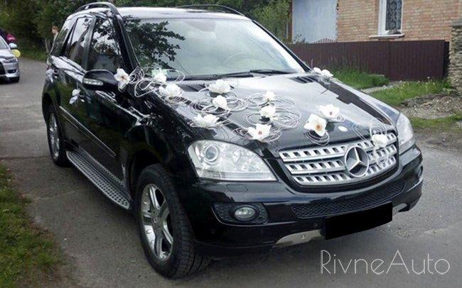 Аренда Mercedes ML на свадьбу Ровно