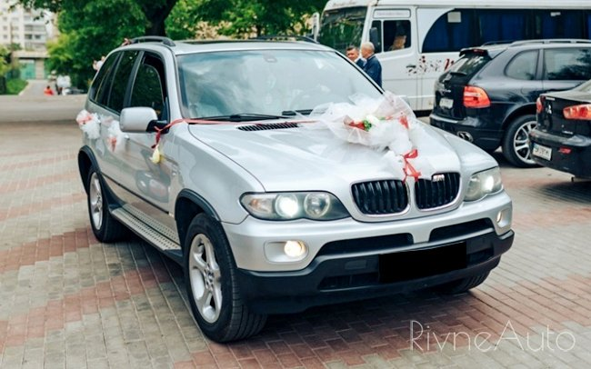 Аренда BMW X5 E53 на свадьбу Рівнe