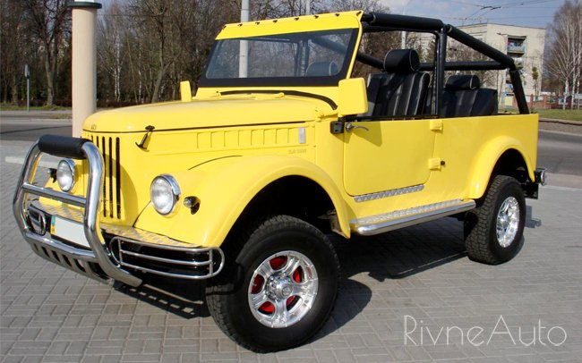 Ретро ГАЗ 69 Кабріолет 1957 рік