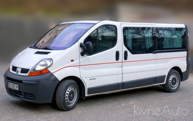 Аренда Мікроавтобус Renault Trafic на свадьбу Рівнe