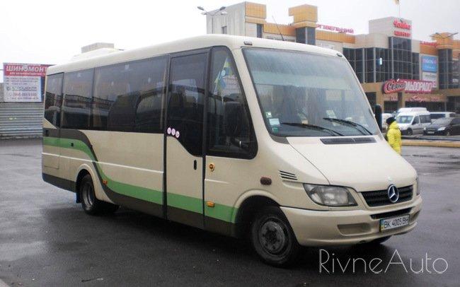 Аренда Автобус Mercedes Sprinter на свадьбу Рівнe